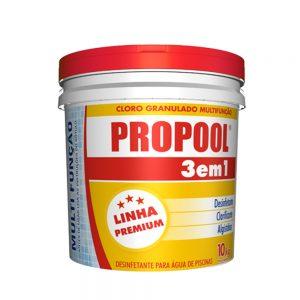 CLORO PROPOOL 3X1 10KG HIDROALL