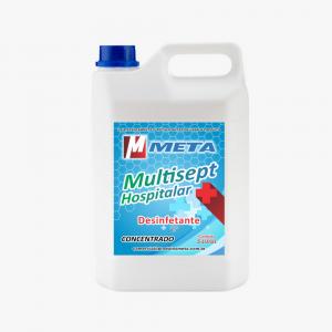 DESINFETANTE CONCENTRADO HOSPITALAR MULTISEPT 5L